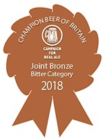 Joint BRONZE CAMRA Champion Beer of Britain Competition 2018 Bitters Category
