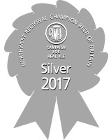 SILVER CAMRA Champion Beer of the North West 2017