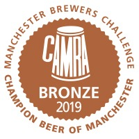 BRONZE Manchester Brewers Challenge Champion Beer of Manchester Competition 2019