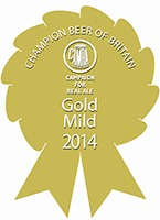 GOLD CAMRA Champion Beer of Britain 2014 Mild Category