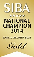 GOLD SIBA National Beer Competition 2014 Champion Bottled Speciality Beers