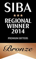 BRONZE SIBA North West Regional Beer Competition 2014 Premium Bitters
