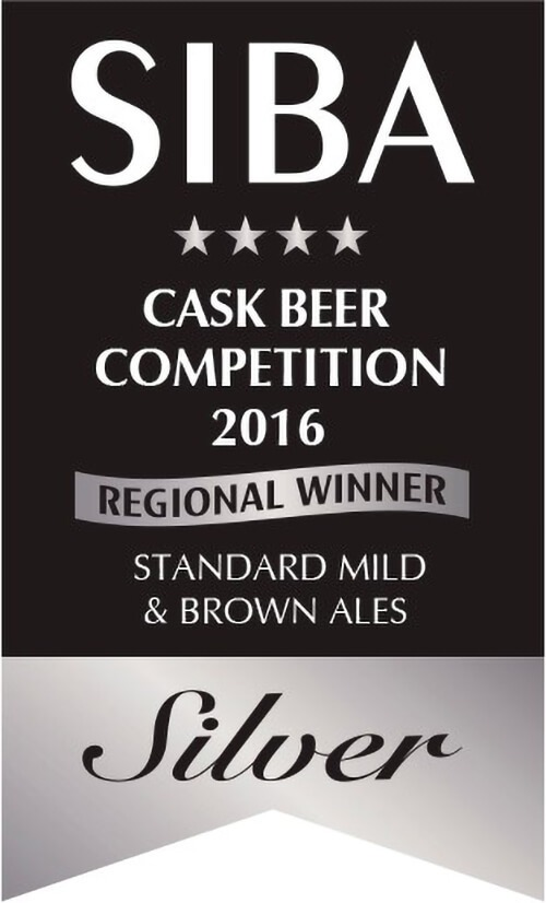 SILVER SIBA National Independent Beer Awards 2016 Small Pack Standard Mild Ales & Brown Ales