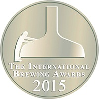 SILVER The International Brewing Awards 2015 The International Cask Conditioned Ale Competition Class 2 (ABV Range 3.9-4.3%)